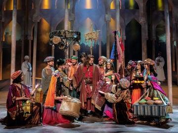 Escena de 'El Médico' el musical