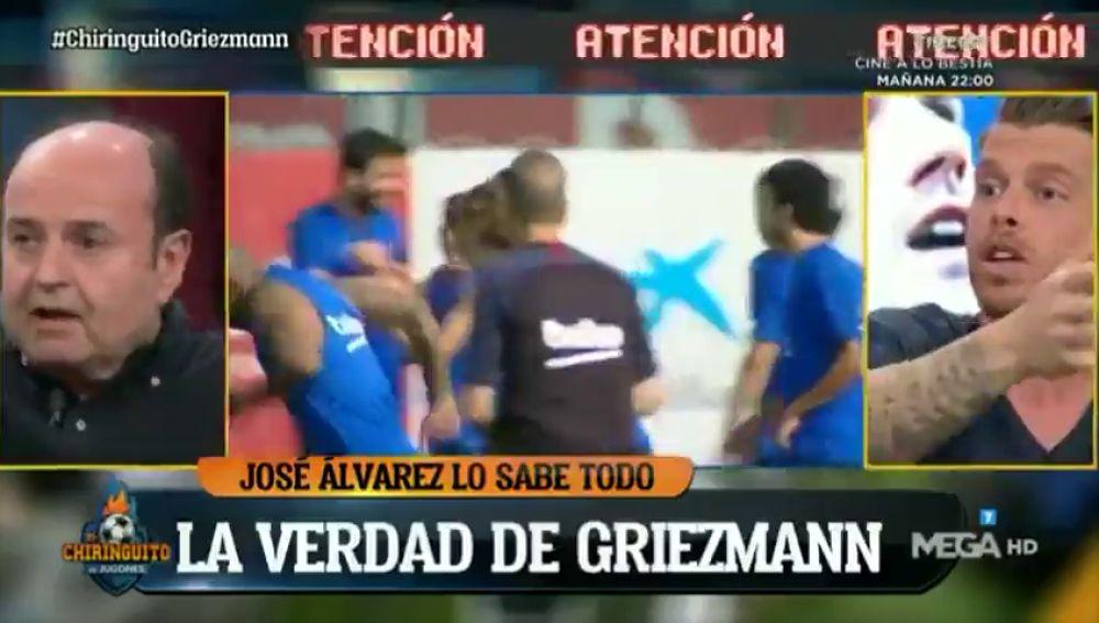 """Jota Jordi no tiene dudas: """"Da la sensación de que Griezmann ha venido al Barça a cobrar"""""""