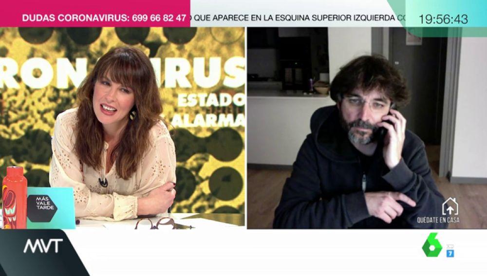 Mamen Mendizábal y Jordi Évole
