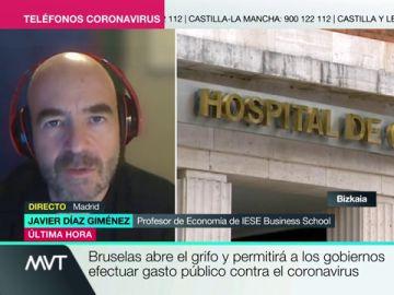 Javier Díaz Giménez, profesor de Economía