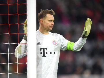 Manuel Neuer, con el Bayern