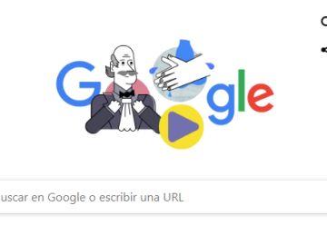 El Doodle de Google a Ignaz Philipp Semmelweis