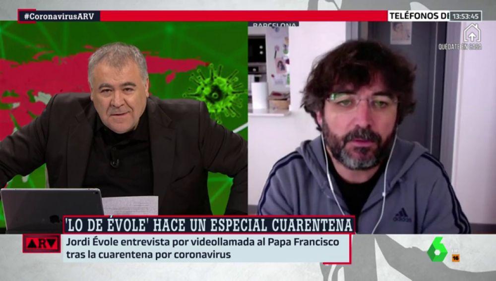 """Jordi Évole cuenta cómo se gestó la entrevista por Skype con el papa Francisco: """"De un día para otro, dijo que sí"""""""
