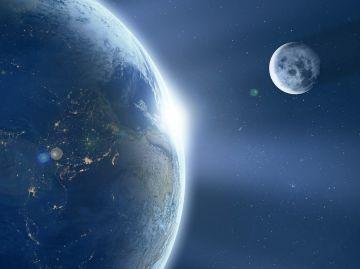 La Luna influye en la duración de los días terrestres