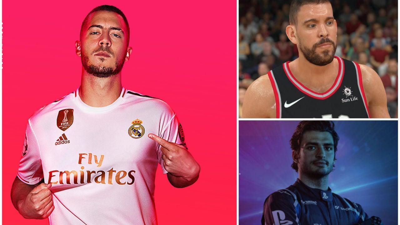 FIFA 20, NBA 2K20 y GT Sport