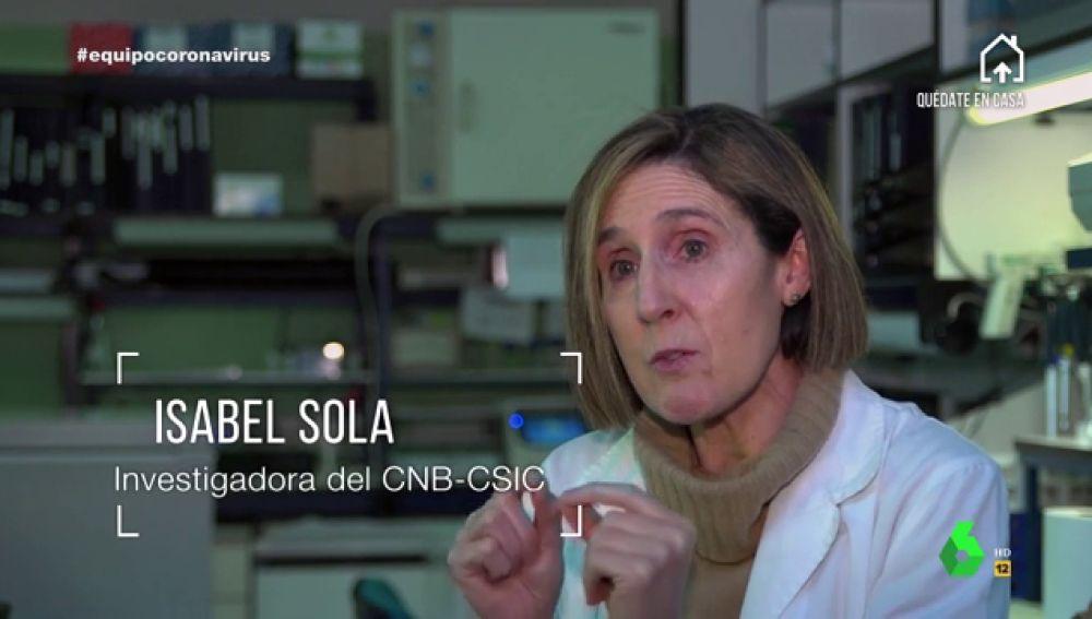 """La investigadora Isabel Sola explica las """"ventajas e inconvenientes"""" de las vacunas creadas en otros países contra el coronavirus"""
