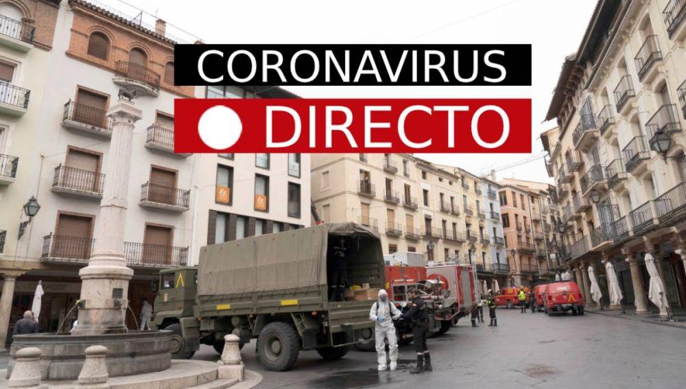 Última hora Coronavirus   España en estado de alarma, los nuevos casos de infectados, EN DIRECTO