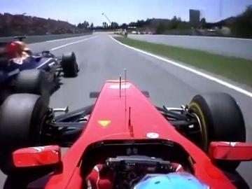 Fernando Alonso adelanta a Mark Webber