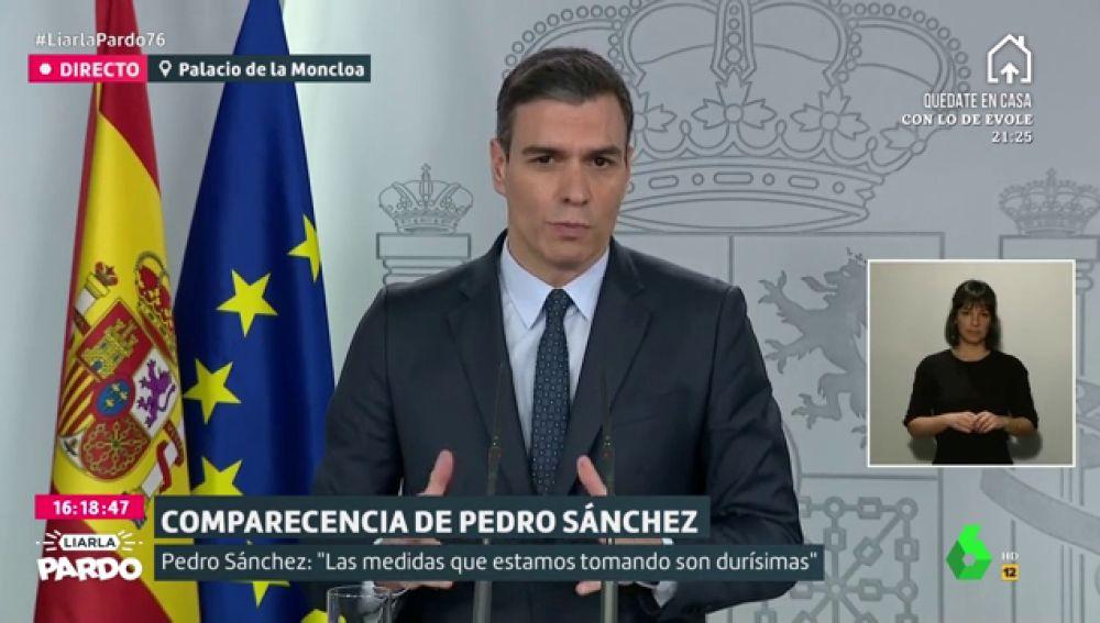 """Sánchez pide a la UE articular un """"gran 'Plan Marshall' de inversiones públicas"""" para luchar contra el coronavirus"""