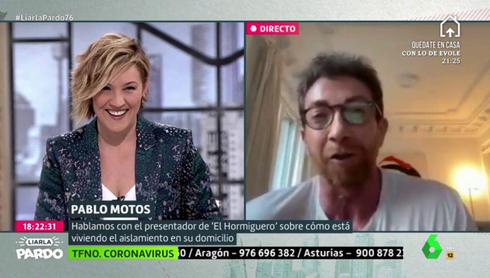 """Pablo Motos """"copiará"""" a Liarla Pardo en El Hormiguero: """"Hay que cambiar de sintonía"""""""