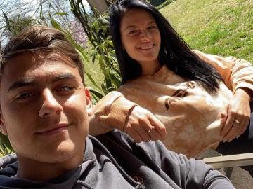 Paulo Dybala, con Oriana Sabatini
