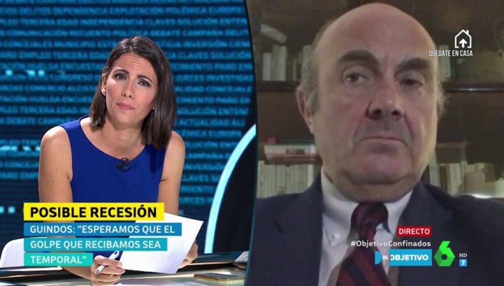 """Luis de Guindos explica por qué la crisis provocada por el coronavirus """"es diferente a la de 2008"""""""