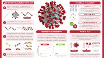 Asi son las pruebas de PCR utilizadas para detectar el SARS Cov 2