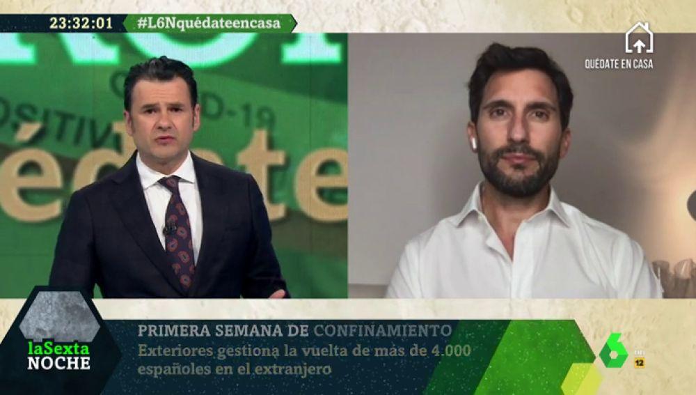 """Luis Campos, médico español en Milán: """"La situación es desastrosa"""""""