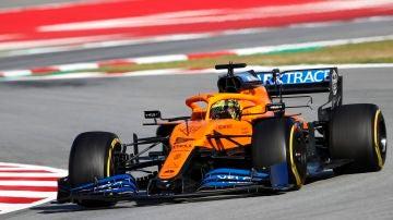 Lando Norris Test F1 Barcelona 2020