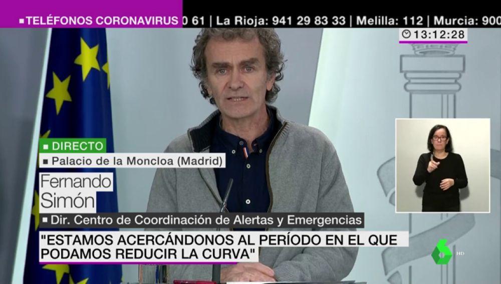 """Fernando Simón se disculpa por la urgencia en su prueba por coronavirus: """"Entiendo que no es agradable para quienes esperan varios días"""""""