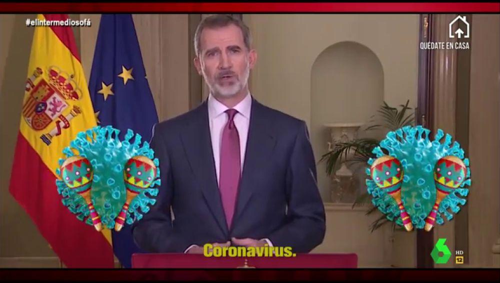 El 'otro' discurso del rey Felipe VI sobre el coronavirus al ritmo ...