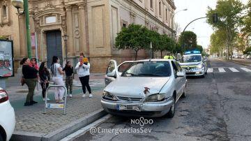 Los infractores durante el control policial
