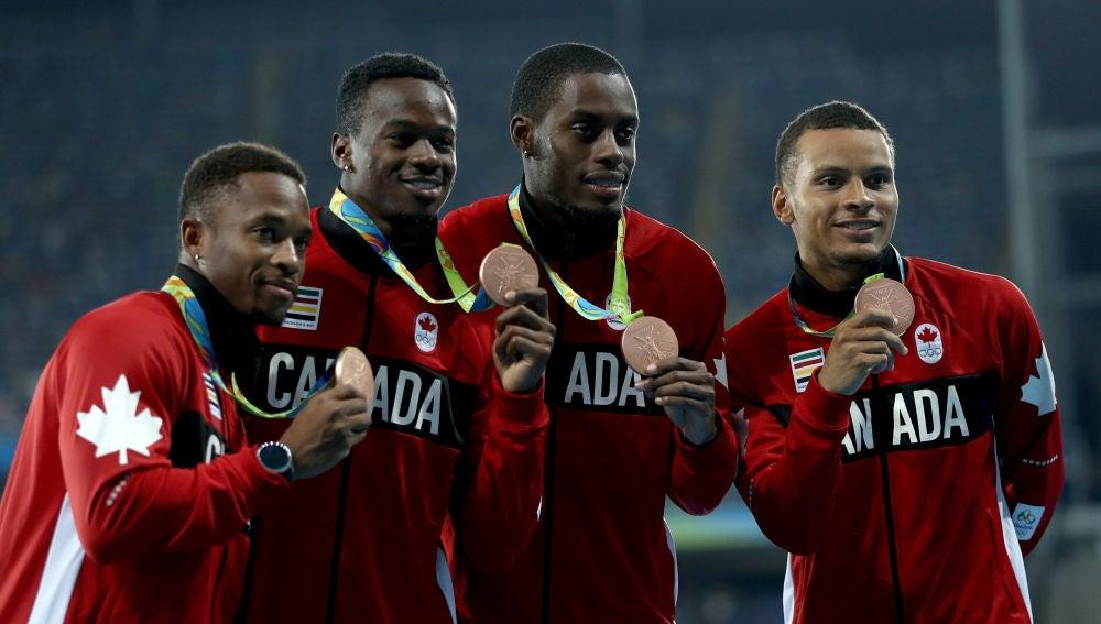 Deportistas canadienses en Rio