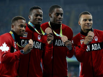 Deportistas canadienses en Rio