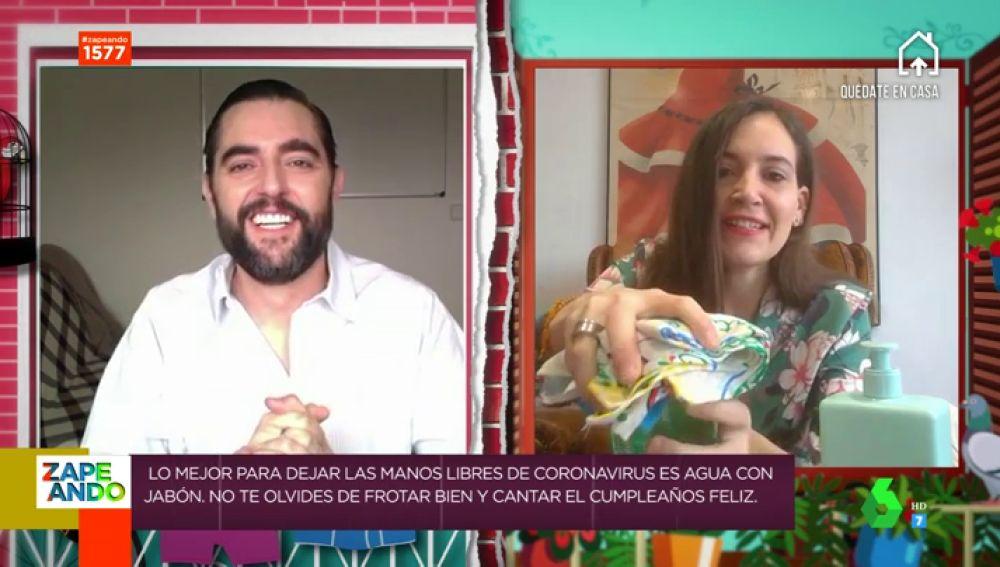 Boticaria Gacía te explica con Dani Mateo el mejor método para lavarte las manos con éxito