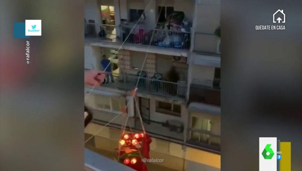 Las mejores 'procesiones' desde los balcones