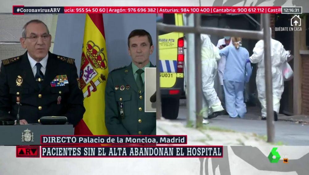 Pacientes sin alta abandonan el hospital