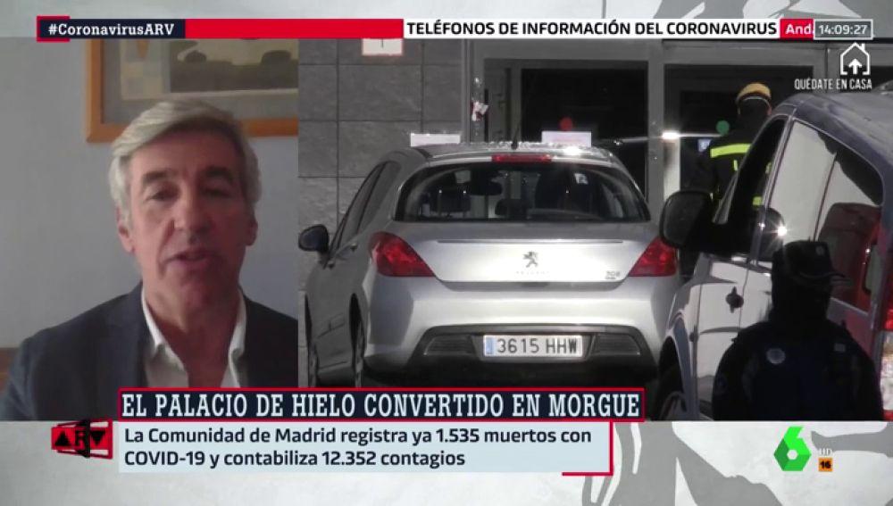 """Asociación Nacional de Servicios Funerarios: """"Las muertes se han multiplicado por siete en la Comunidad de Madrid"""""""