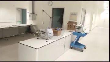 UCI cerrada en el Hospital Infanta Sofía