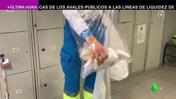"""""""El material viene roto antes de abrirlo"""": los sanitarios denuncian situaciones """"tercermundistas"""" por la crisis de coronavirus"""