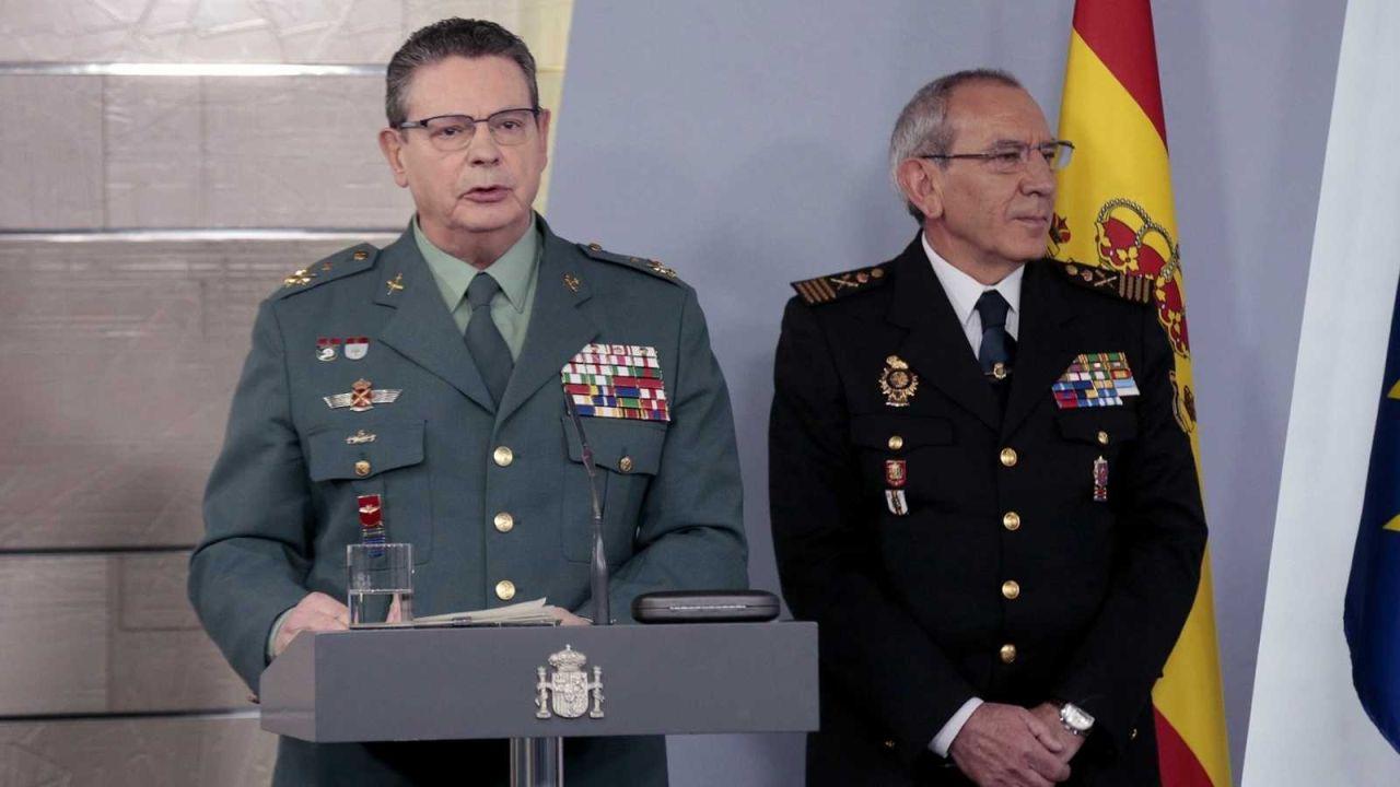 El director operativo adjunto de la Guardia Civil, Laurentino Ceña