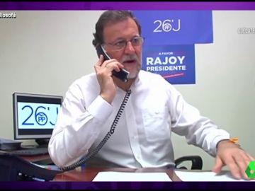 """Vídeo manipulado - Rajoy presume de estar """"estupendamente"""" en plena crisis por el  coronavirus"""