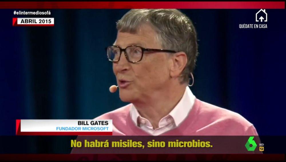 """Bill Gates predijo la pandemia del coronavirus: """"Si algo va a matar a diez millones de personas en una década será un virus"""""""