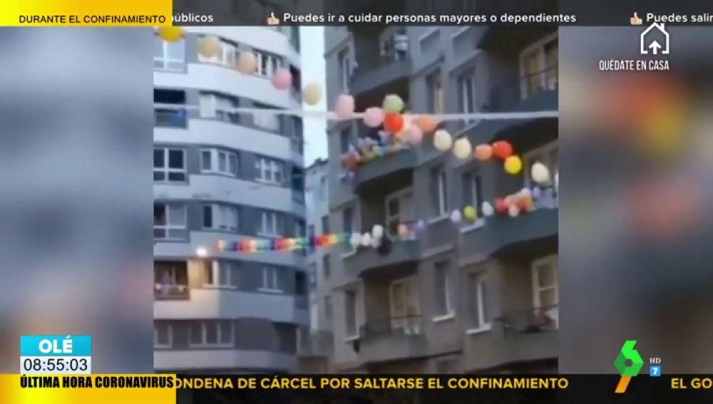 La forma positiva y activa de pasar la cuarentena en A Coruña