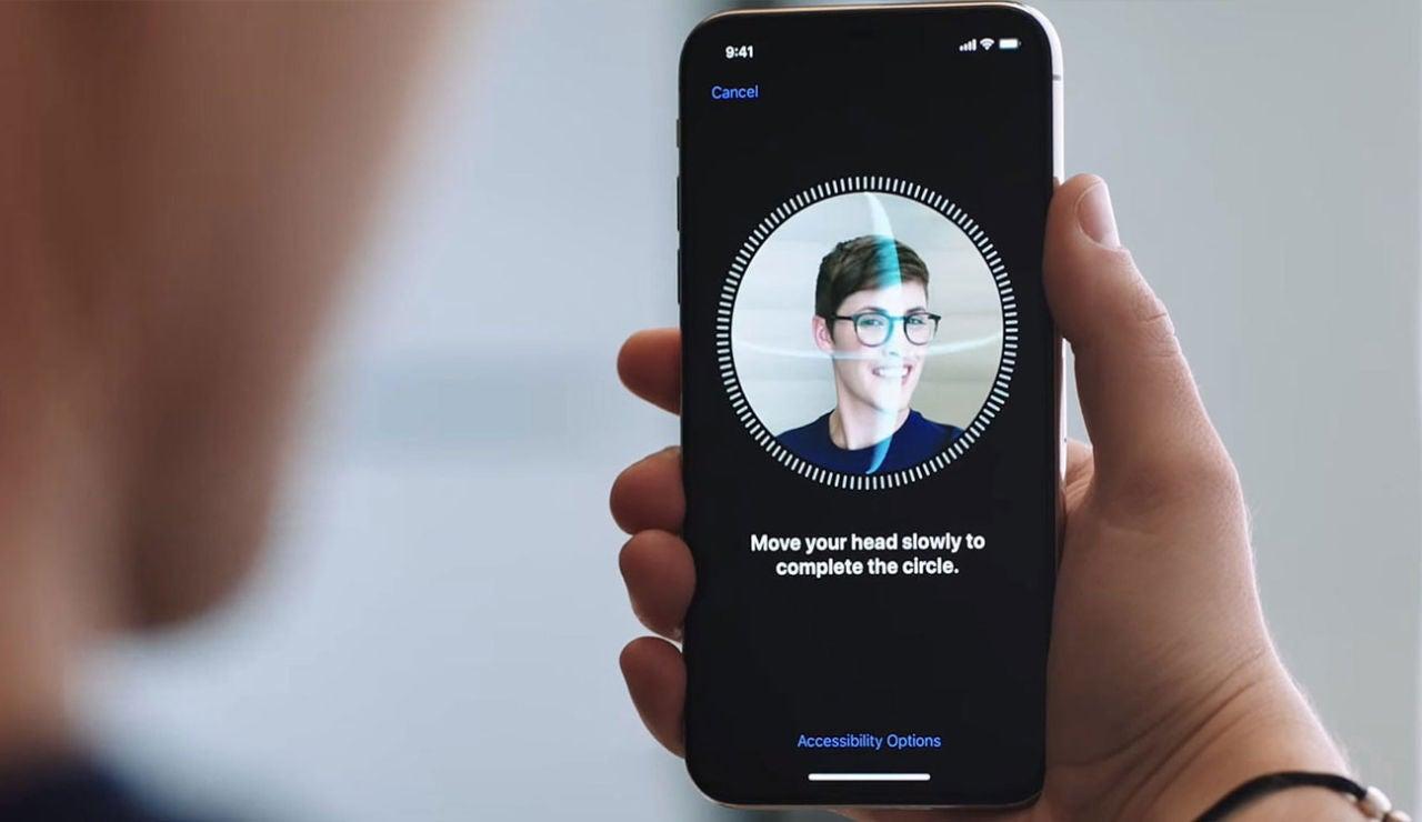 Face ID en el iPhone
