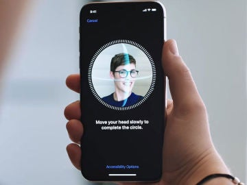 Face ID en el iPhone