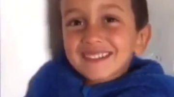 El emotivo mensaje de los niños saharauis a España