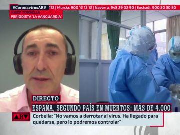 """Josep Corbella, divulgador científico: """"Vamos a tener que aprender a convivir con el coronavirus"""""""