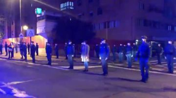 Emotivo homenaje de todas las autoridades al guardia civil fallecido por coronavirus en Logroño