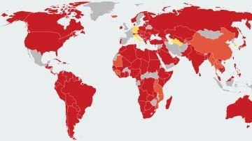 Restricciones a viajeros españoles por el coronavirus