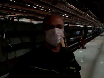 """Así son los conductos de oxígeno fabricados por bomberos y """"héroes anónimos"""" en IFEMA"""