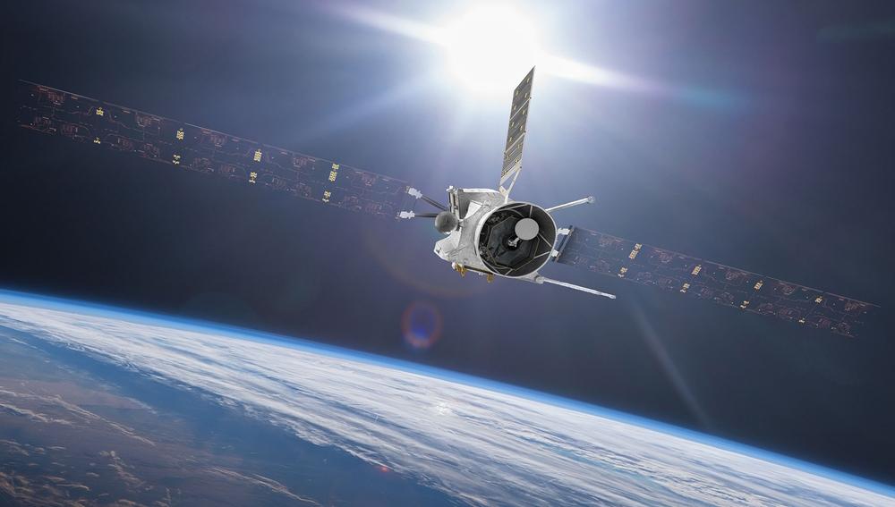 Recreación de la misión BepiColombo de la ESA, actualmente de camino a Marte.