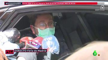 Paciente dado de alta en el hospital de Ifema