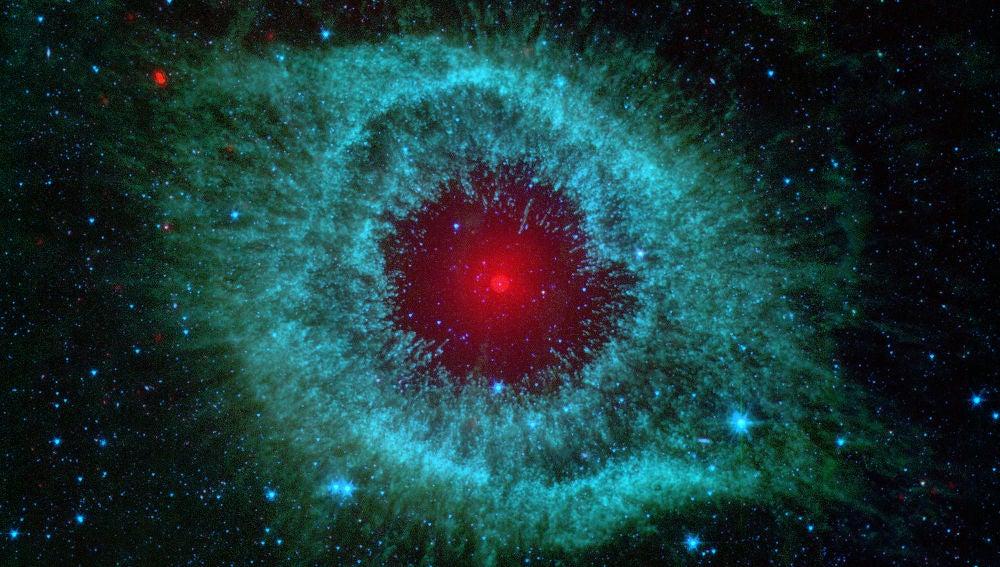 Una estrella binaria en la pupila de Sauron
