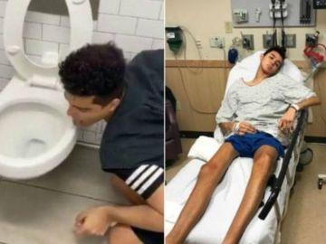 El joven 'influencer' que realizó el reto del coronavirus