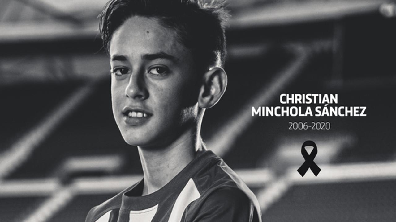 Christian Minchola, canterano del Atlético