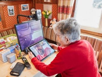 Gertrude, la anciana curada de coronavirus