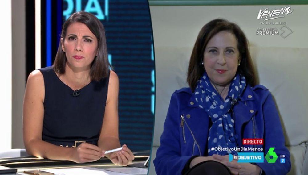 """Margarita Robles: """"Se va a establecer una moratoria para que algunas actividades se paralicen paulatinamente"""""""