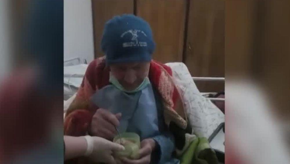Alberto Bellucci, el italiano de 101 años que ha vencido al coronavirus