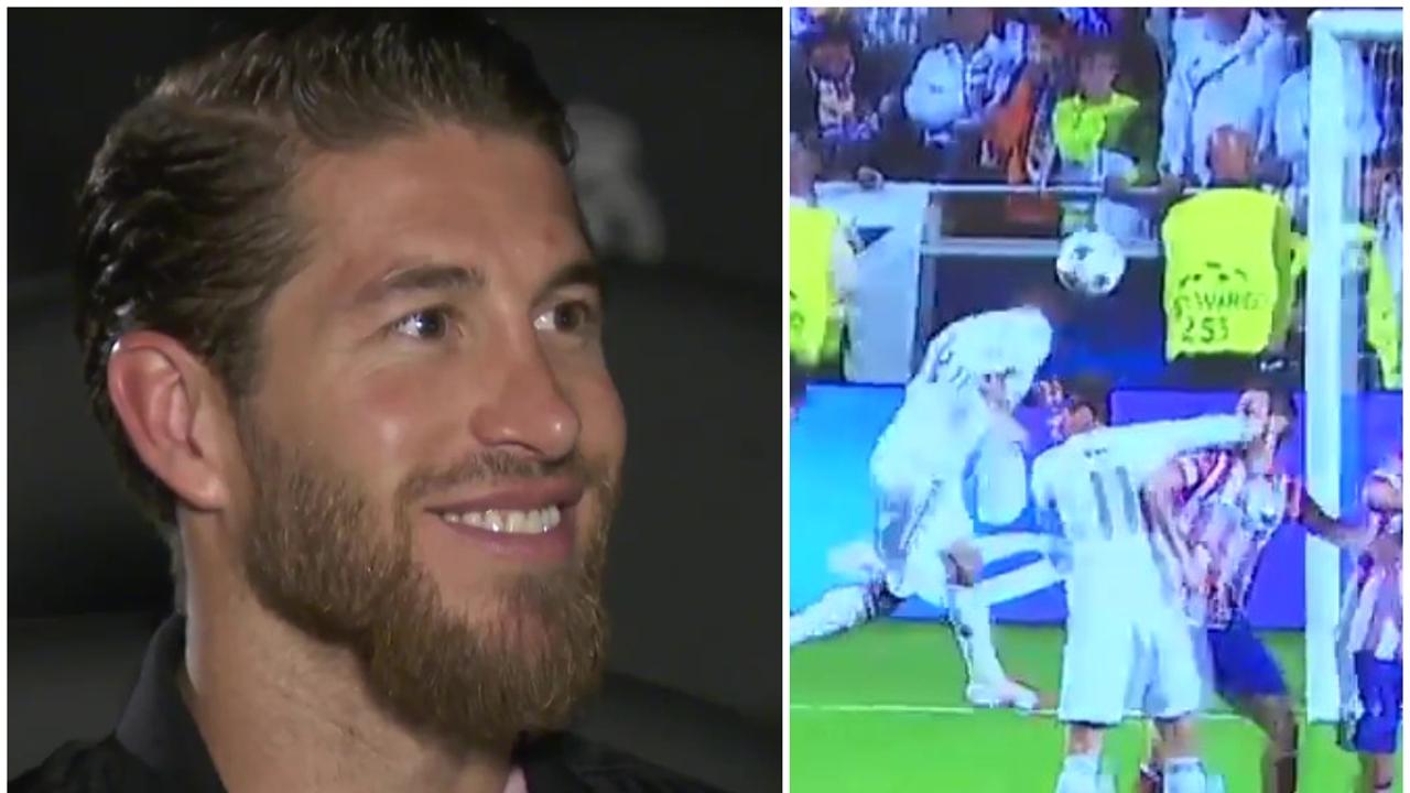 Sergio Ramos y su gol en Lisboa 2014